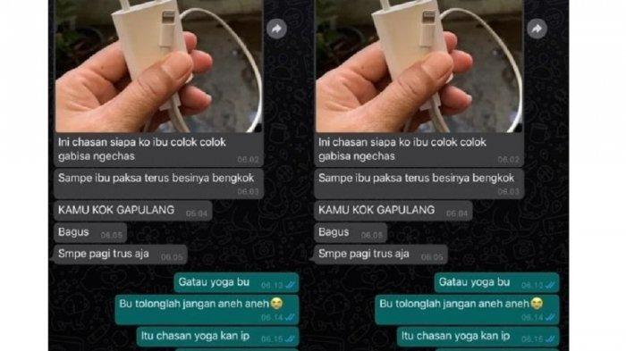 Viral Chat Kocak Netizen dan Ibunya soal Charger Handphone, Bikin Greget dan Ngakak