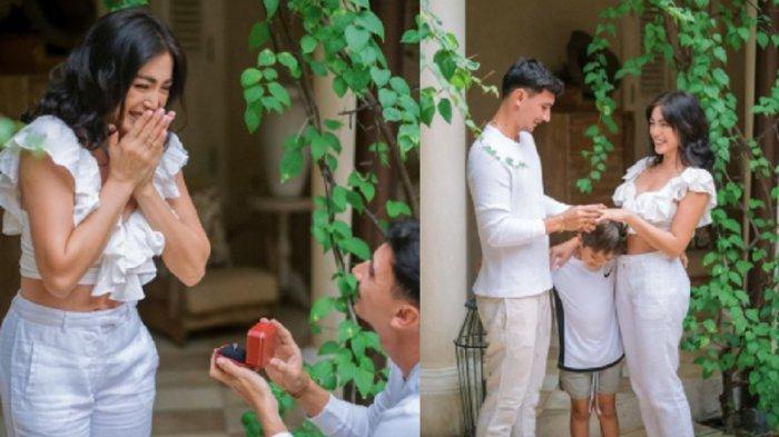 Terima Lamaran Vincent Verhaag di Depan Anaknya, Jessica Iskandar Ungkap Kebahagiaannya