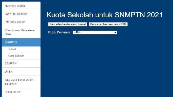 Cara Registrasi Akun LTMPT SNMPTN 2021, Siapkan Nomor NISN dan NPSN
