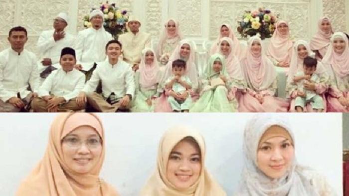 Aa Gym dan keluarga besar