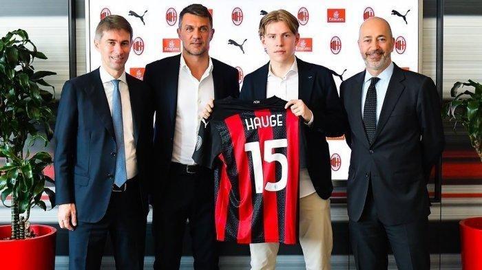 AC Milan resmi dapatkan tanda tangan Jens Petter Hauge