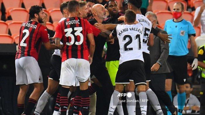 AC Milan vs Valencia : Aksi Kontroversi Rade Krunic & Tanpa Olivier Giroud, Rossoneri Keok