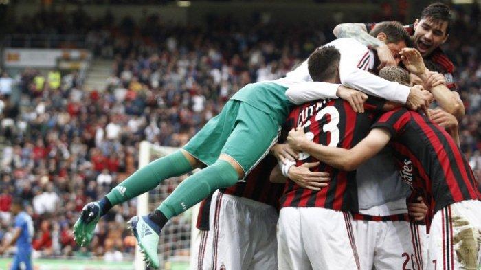 Liga Italia - Diwarnai Dua Gol Dianulir Wasit, AC Milan Menang Tipis atas AS Roma