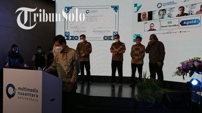 Resmikan Multimedia Nusantara Polytechnic, Mendikbud Nadiem : 3 Prodi yang Ada Sangat Kita Butuhkan