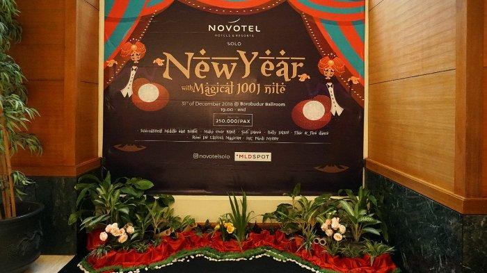 Sambut Malam Pergantian Tahun Baru 2019, Hotel Novotel Solo Gelar Gala Dinner Bertema 1001 Malam