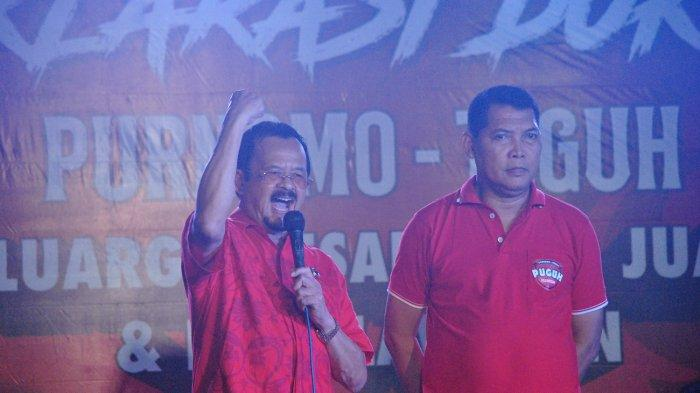 Soal Rekomendasi, Purnomo : Kalau DPC 100 Persen Dukung Saya dan Pak Teguh, Apa Tidak Didengar DPP?