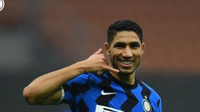 Di Balik Inter Milan Patok Hakimi dengan Harga Selangit : Demi Tutup Utang yang Kadung Menggunung