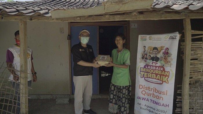 Hari Kedua Idul Adha 2020, ACT Solo Salurkan Hewan Kurban di Pelosok Wonogiri