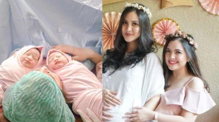 Adik ipar Tasya Kamila melahirkan bayi kembar