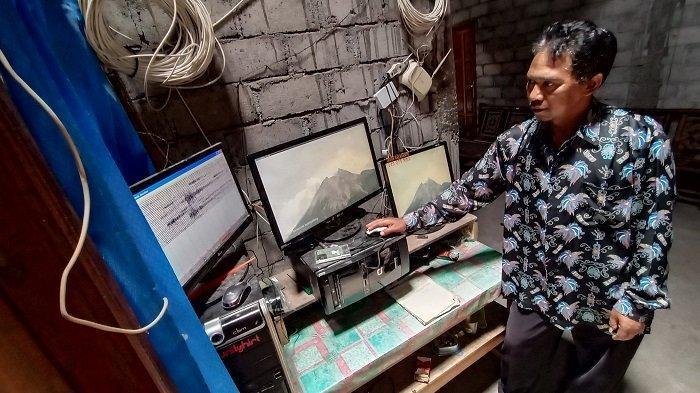 Sosok Agus Sarnyata : Sang Guru 'Penjaga' Pos Pantauan Gunung Merapi Induk Balerante Klaten