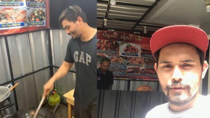 Libur Syuting karena Virus Corona, Eks Aktor Gentabuana Ini Pilih Jualan Nasi Goreng Bersama Istri