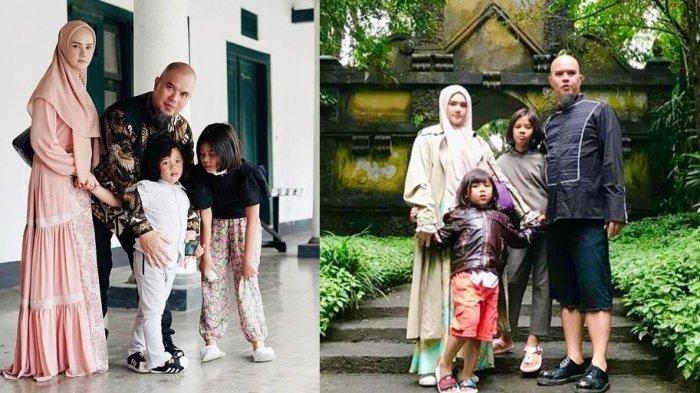 Mulan Jameela dan Ahmad Dhani Liburan ke Solo, Kunjungi Keraton hingga Ziarah ke Astana Giribangun