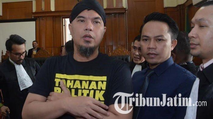 Jaksa Tolak Semua Eksepsi Ahmad Dhani