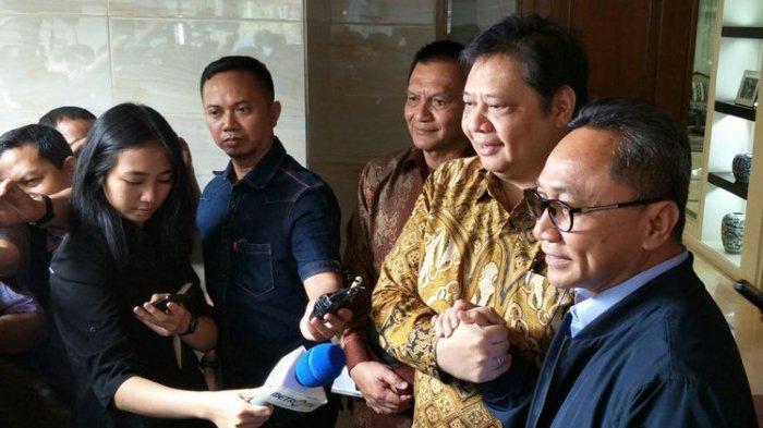 Mahyudin Tolak Diganti sebagai Wakil Ketua MPR, Airlangga Temui Ketua MPR Zulkifli Hasan