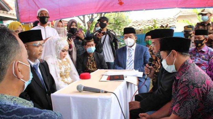 Indri & Dani Ijab Kabul Diliputi Duka Cita, Orangtua Meninggal Tertimbun Longsor Sebelum Akad Nikah