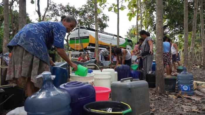 Kekeringan, ACTKirimAir Bersih dengan Mobil Tangki Berkapasitas 8.000 Liter ke Wonosegoro Boyolali