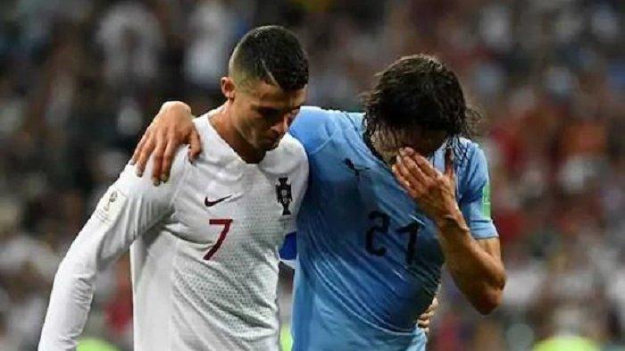 Cristiano Ronaldo: Kami Tampil Lebih Baik dari Uruguay tapi Tim Pencetak Gol Banyak yang Menang