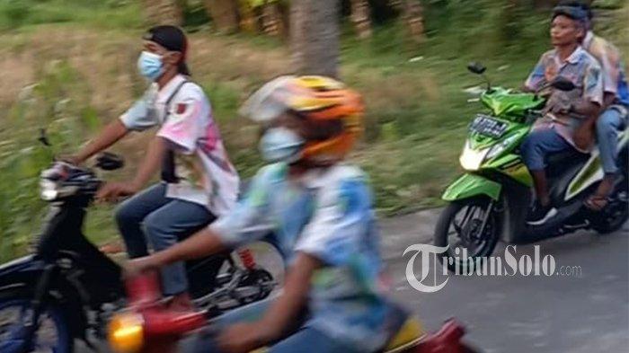 Konvoi Kelulusan SMK di Trangsan Sukoharjo, Suara Knalpot Ganggu Warga: Polisi Langsung Patroli