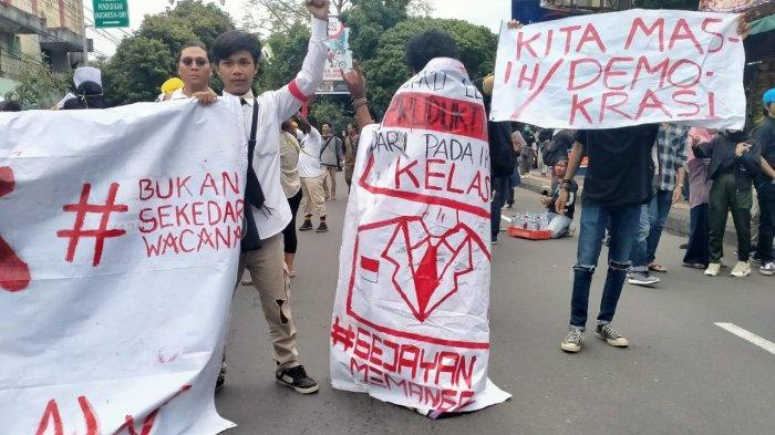6 Tuntutan Demonstran di Aksi #GejayanMemanggil Tolak RUU Omnibus Law di Yogyakarta