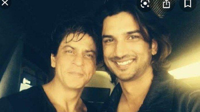 Aktor Shah Rukh Khan dan Sushant Singh Rajput.