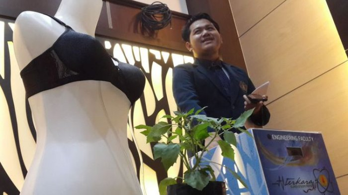 Pakai Buah Ciplukan, Mahasiswa Unibraw Malang Ini Bikin  Alat Terapi Kanker Payudara