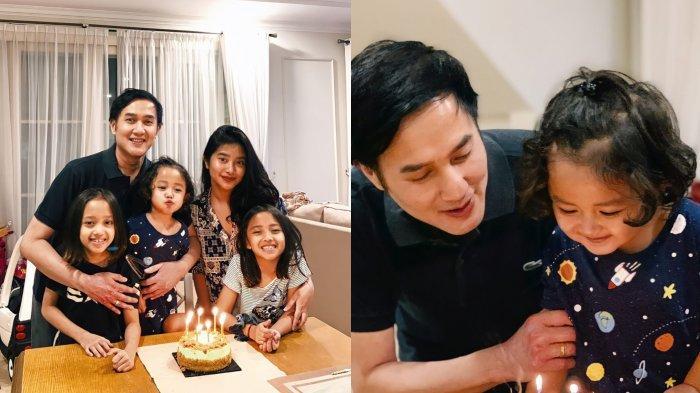 Aldi Bragi rayakan ulang tahun bersama keempat anaknya.