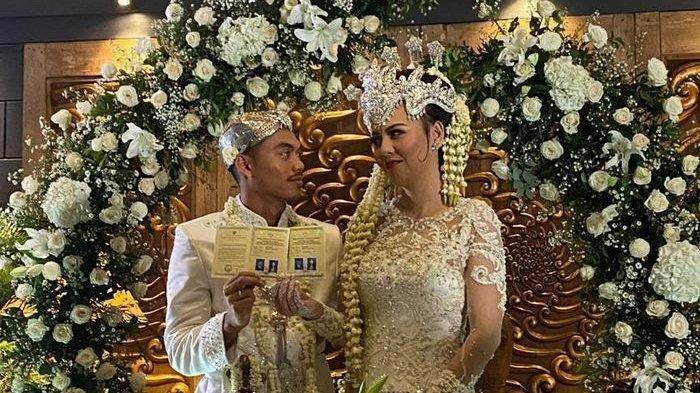 Alfath Fathier Pemain Persija Jakarta Menikah dengan Ratu Rizky Nabila saat Wabah Corona Melanda