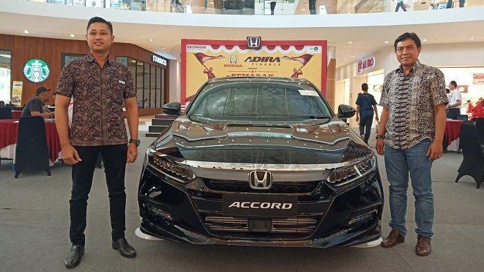 Honda Accord 2019 Dipamerkan dalam Pameran Honda di The Park Mall Solo Baru