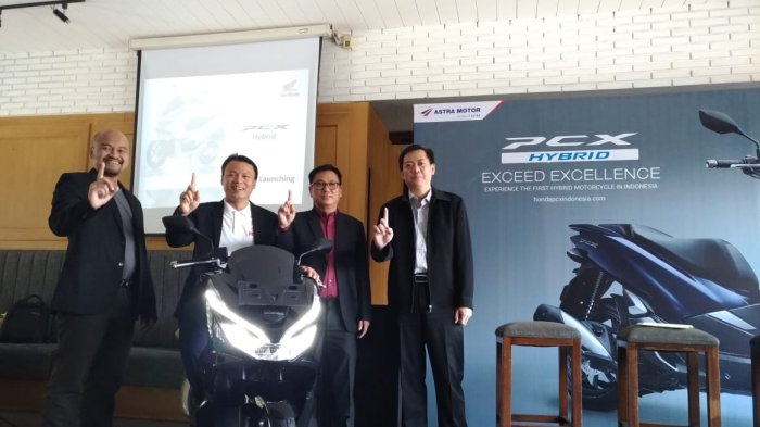 Astra Motor Jateng Resmi Luncurkan All New Honda PCX Hybrid