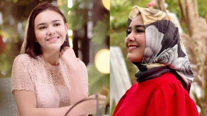 Amanda Manopo pamer foto mengenakan hijab.