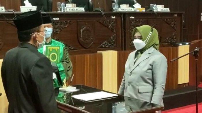 Suroto Jadi Wakil Bupati Sragen, Posisinya di DPRD Digantikan Putrinya, Dia Adalah Amelia Suciani