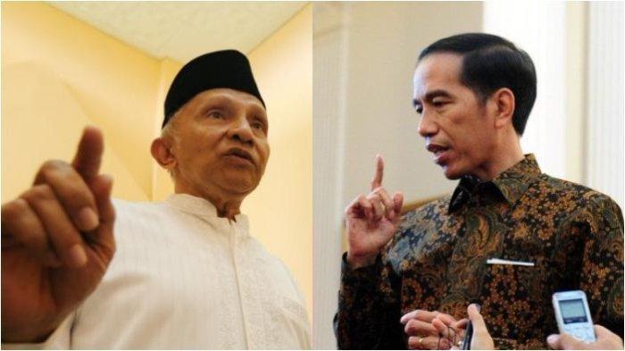 Amien Rais dan Jokowi.