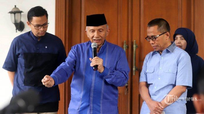 Amien Rais Sebut di Era Jokowi Jalankan Politik Belah Bambu, Injak Sebagian dan Angkat Sebagian Lain