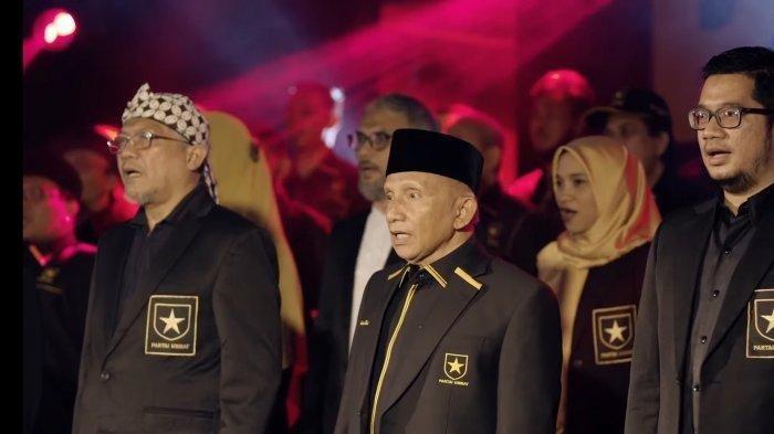Amien Rais saat deklarasi Partai Ummat, Kamis (29/4/2021). Penggerak Partai Ummat di empat provinsi ini pernah menjadi pengurus PAN, partai yang didirikan Amien Rais semasa reformasi.
