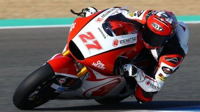 Kualifikasi Moto2 Qatar 2020: Andi Gilang Ungguli Juara Dunia Moto3, Adik Rossi Nyaris Pole Position