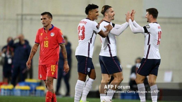 Hasil Kualifikasi Piala Dunia Andorra vs Inggris, The Three Lions Pesta Gol Dengan Skor 0-5