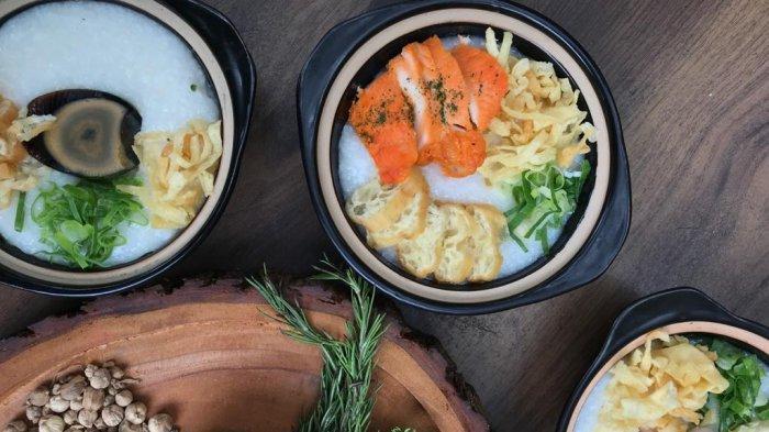 Aneka Hidangan Bubur Kembali Hadir di Canting Londo Kitchen Solo, Cocok Untuk Menu Sarapan