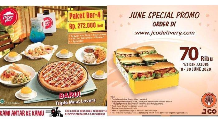 Promo KFC, JCO, McDonalds, Pizza Hut hingga CFC, Snack Baru KFC Mulai Rp 18 Ribuan