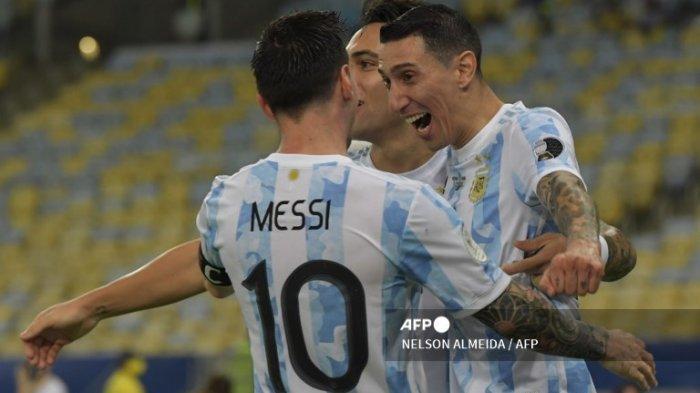 Perkasa di Benua Amerika, Timnas Argentina Belum Terkalahkan Sejak 2019 Lalu