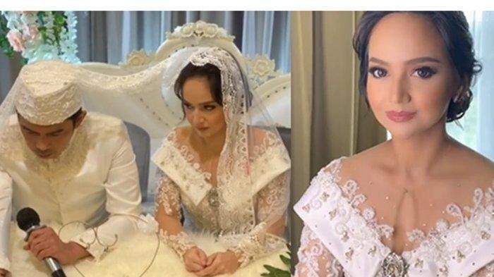 Sederet Fakta Pernikahan Angelica Simperler & Rico Hidros Daeng, Rico Mengaku Tegang saat Ijab Kabul