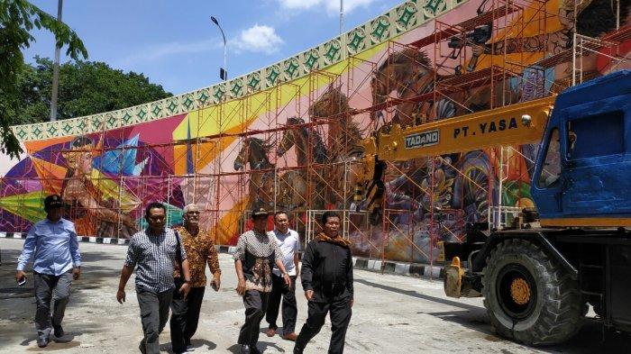 Komisi II DPRD Solo Sidak Flyover Manahan