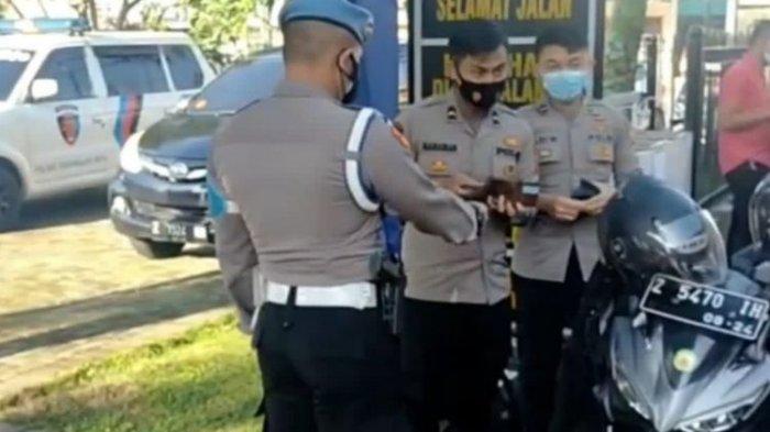 Kronologi Polisi Ditilang Sesama Polisi karena Tak Bawa SIM, Terungkap Cerita di Baliknya