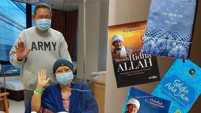 Ani Yudhoyono Mendapat Kiriman Buku-buku Islami dari Aa Gym: Semoga Jadi Sarana Kesembuhan Saya