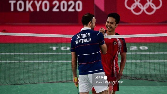 Sumringahnya Anthony Ginting,Raih Medali Perunggu Olimpiade Tokyo 2020 : Terima Kasih, Indonesia
