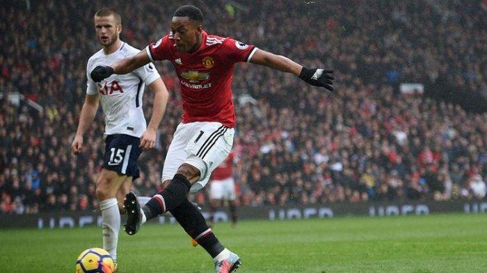 Liga Inggris, Manchester United Menang 1-0 Atas Tottenham Hotspur