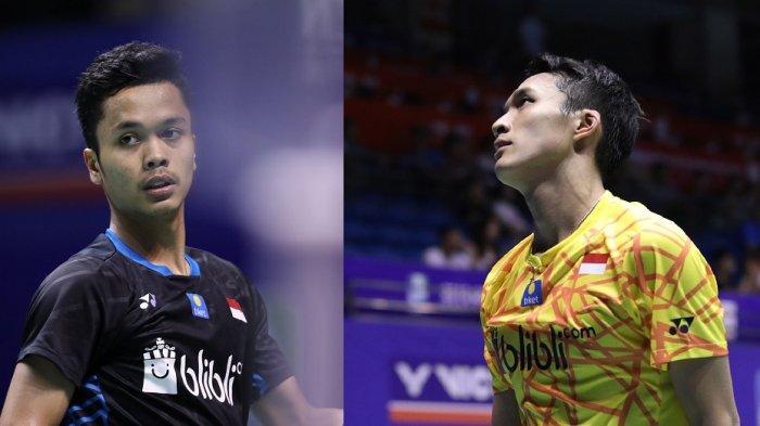 Daftar Pemain Indonesia vs Thailand di Thomas Cup 2021 Live TVRI, Andalkan Ginting dan Jojo
