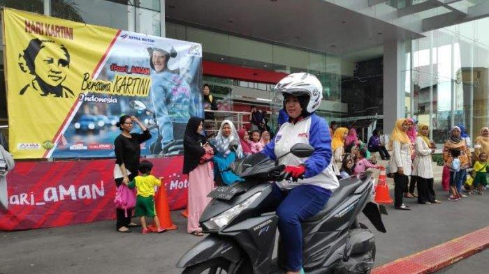 Astra Motor Jateng Ajak Wanita Jadikan Safety Riding Sebagai Gaya Hidup