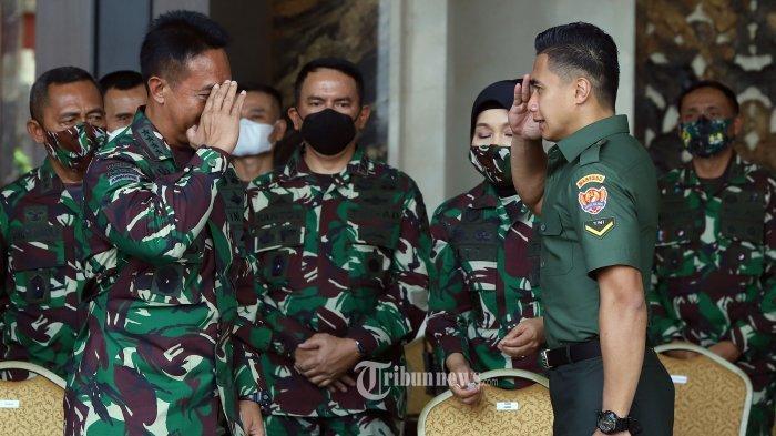 Usai Ubah Nama, Aprilio Manganang Dapat Tugas Baru, Dipuji Habis-habisan Jenderal TNI Andika Perkasa