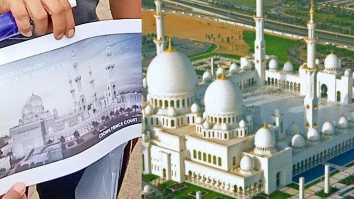Megahnya Masjid Pangeran Arab untuk Jokowi, Jadi Salah Satu Masjid Termahal di Indonesia?
