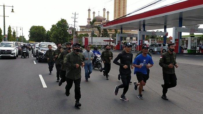 ABY Lari Keliling Sebelum Berangkat ke KPU Klaten, Sang PNS Kementerian PUPR Ungkap Maknanya